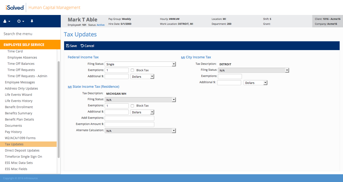 Payroll Processing Software Isolved Hcm