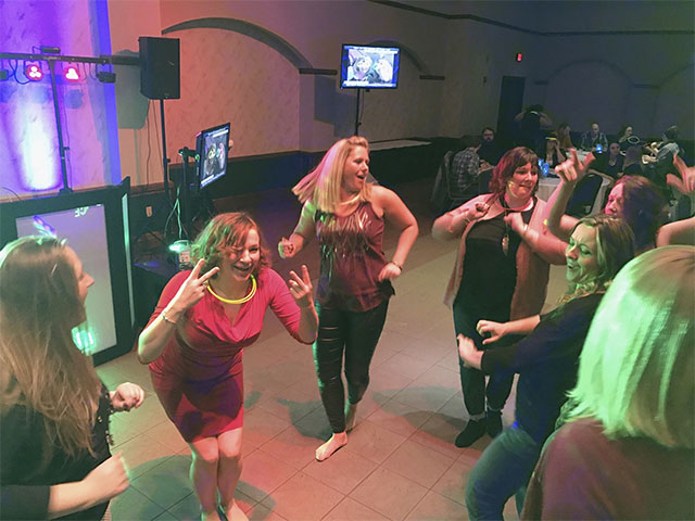 New Year's Party Dance Floor