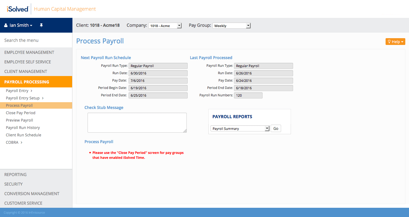 Payroll Processing Software | iSolved HCM